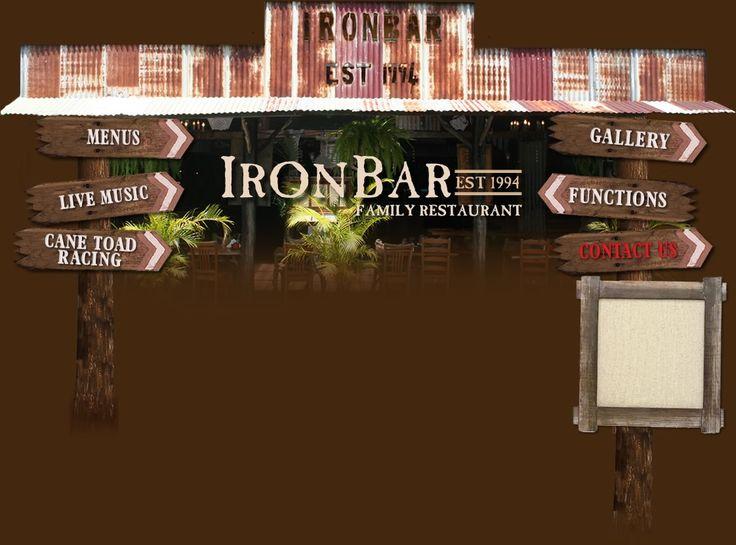Ironbar Steakhouse Restaurant - DINNER MENU