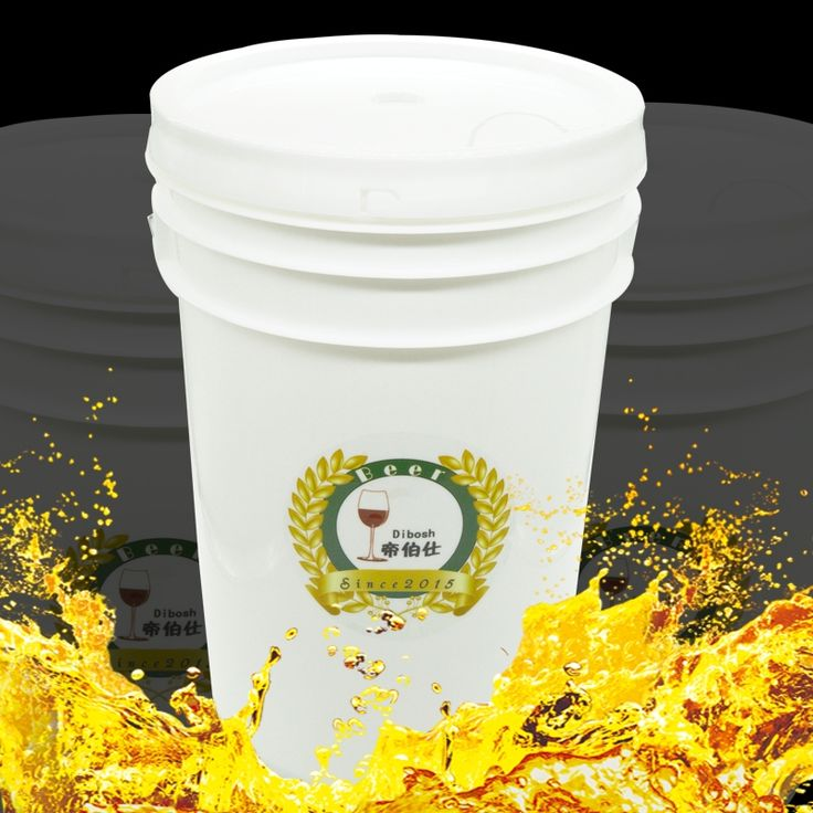 25L PE High Quality Plastic Beer Barrel Home Brewing Enzyme Bucket With Tap & Air Lock Food Grade