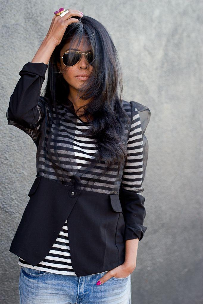 Вариант переделки жакета / Жакеты / Модный сайт о стильной переделке одежды и интерьера