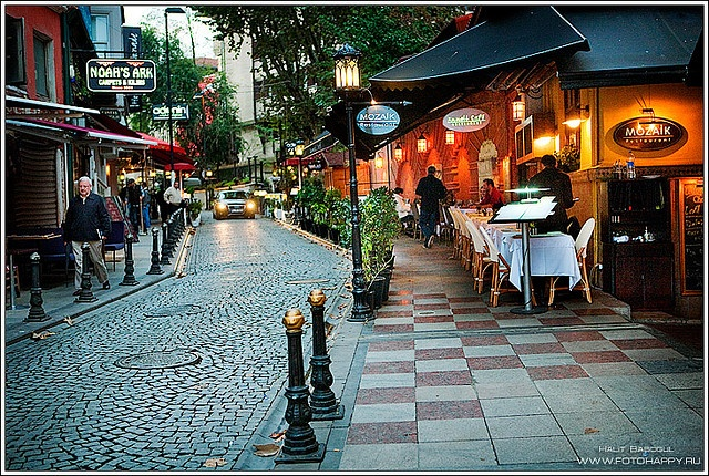 #Istanbul street - the end of October   by Lana Danilova, via Flickr