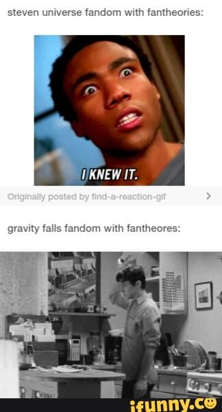 The difference between the Gravity Falls fandom and Steven Universe fandom