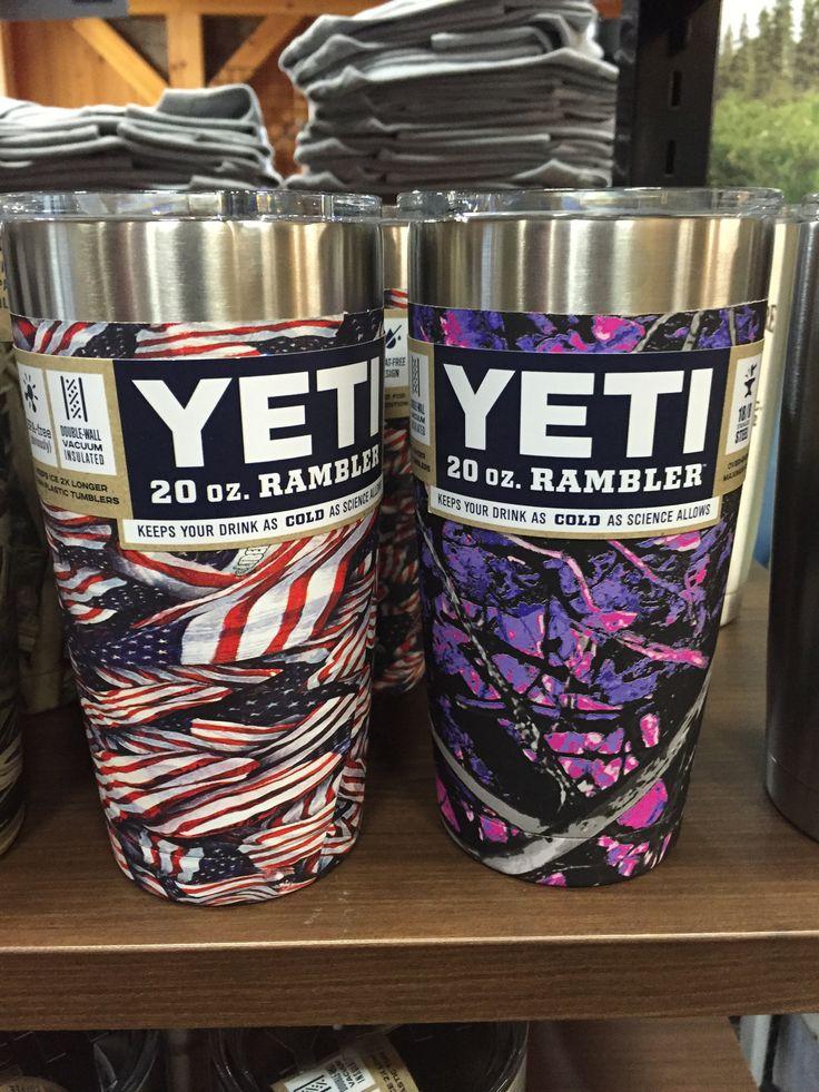 Yeti Custom Dipped Stainless Rambler Tumblers