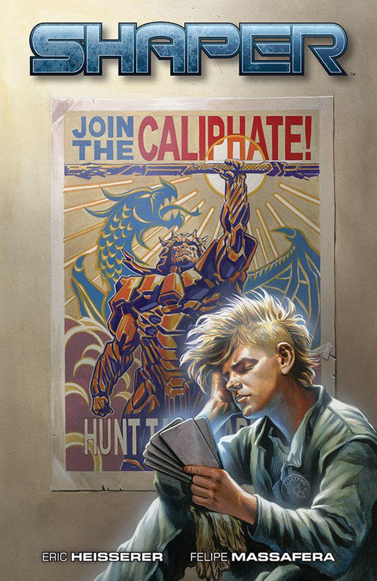 Cover art for Eric Heisserer's comic Shaper #1, coming from Dark Horse Comics. Art by Felipe Massafera. #myfantasyart #filmfetish #darkhorse #comics #shaper #EricHeisserer #FelipeMassafera