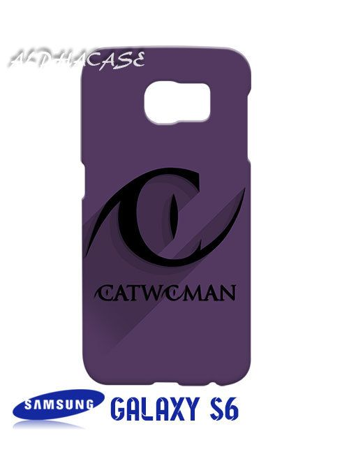Catwoman Superhero Samsung Galaxy S6 Case