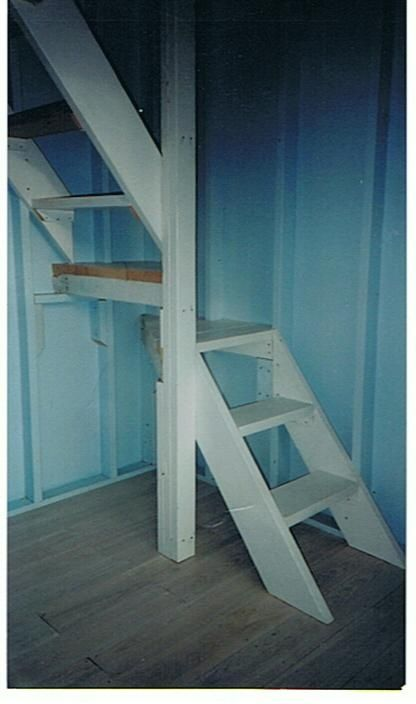 open stairway for small spaces