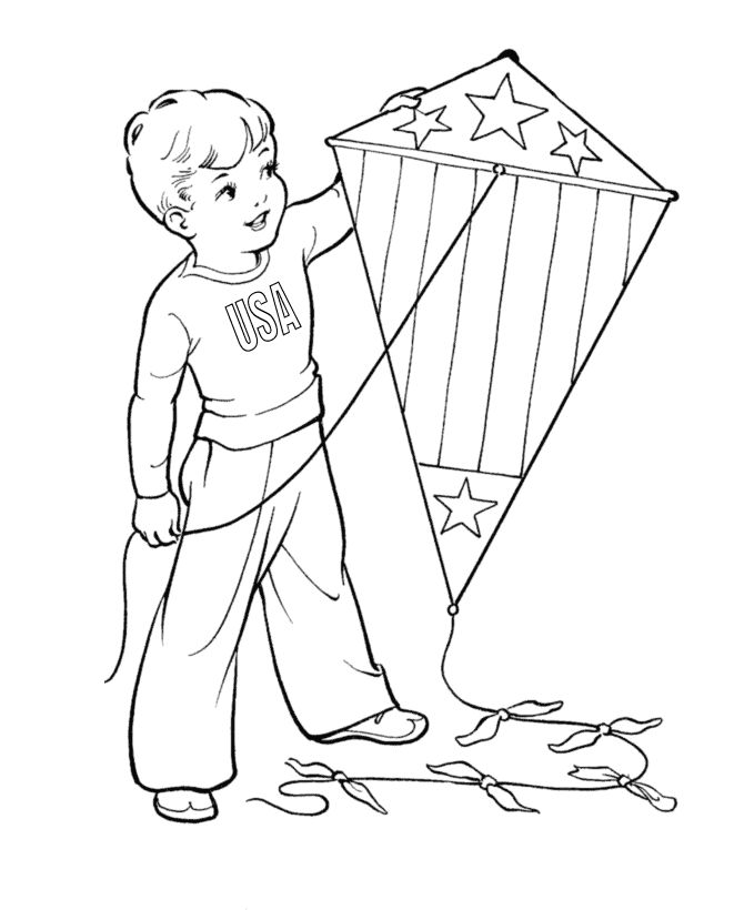 29 best Kite Coloring Pages images on Pinterest | Coloring pages ...