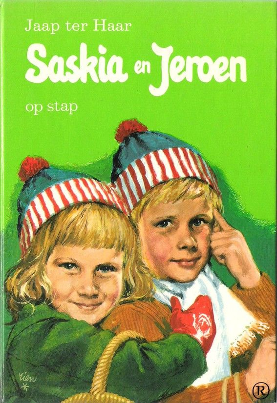 Saskia en Jeroen - op stap. Schrijver: Jaap ter Haar.14e druk. In 1971 uitgegeven door Holkema & Warendorf te Bussum.