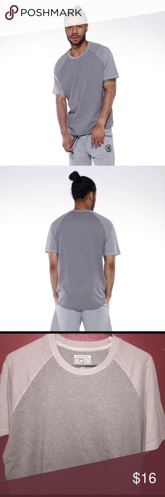 🔥CONVERSE MENS BASEBALL TEE Men's XS Converse Shirts Tees - Short Sleeve
