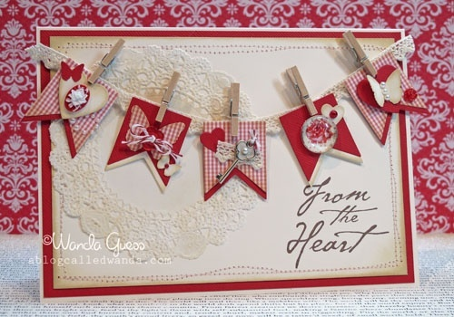 Valentine Banners: Valentines Banners, Cards Design, Cards Ideas, Banners Cards, Blog Call, Valentines Cards, Call Wanda, Valentines Day Cards, Heart Cards