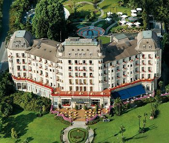 Regina Palace Hotel, Stresa, Italy - beautiful hotel and wonderful place to stay--the view couldn't be better from the 4th floor front and center!!