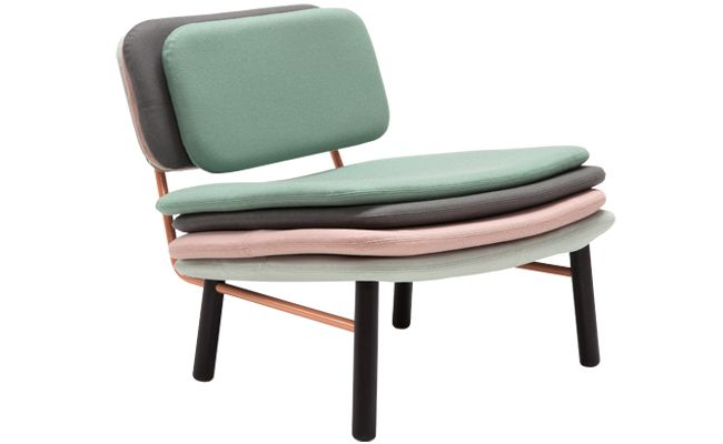 Stack easy chair