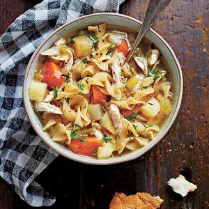 Soulful Chicken Soup | MyRecipes.com