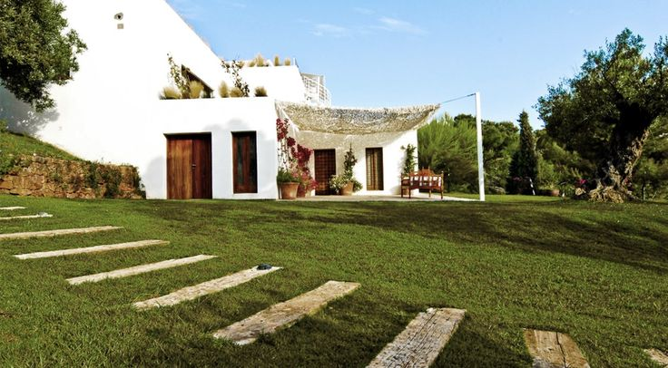 Luxury villa for rent in Ibiza, perfect for family vacations on the White Island