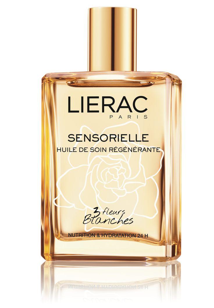 L'Huile de soin régénérante aux 3 Fleurs Blanches #Lierac #LieracParis