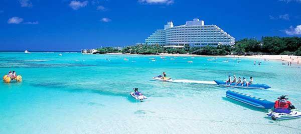 Ana Intercontinental Manza Beach Resort Okinawa What A Beautiful Amazing World Pinterest Resorts And