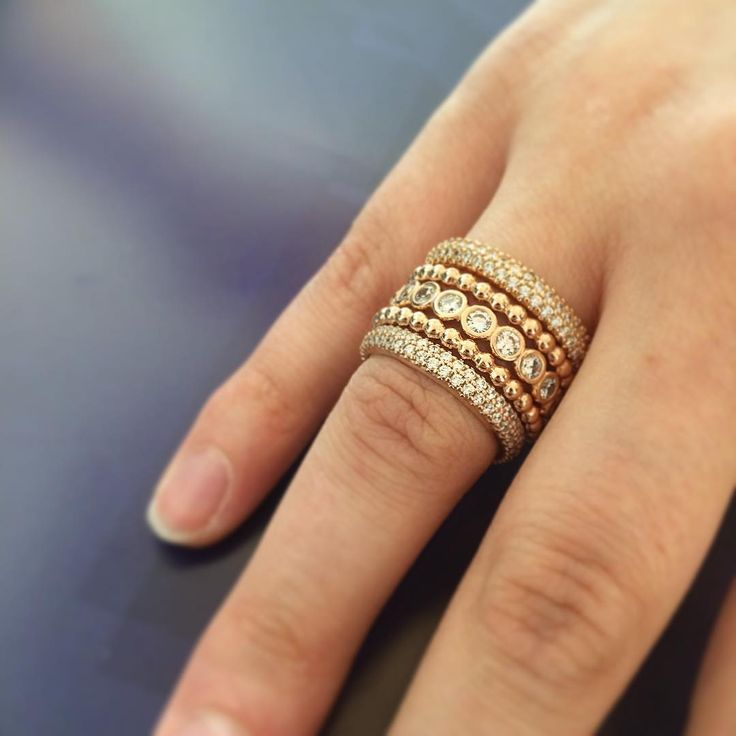 gold pandora rings for right hand