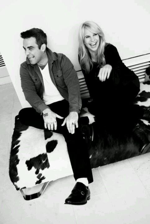 Robbie Williams & Linda de Mol