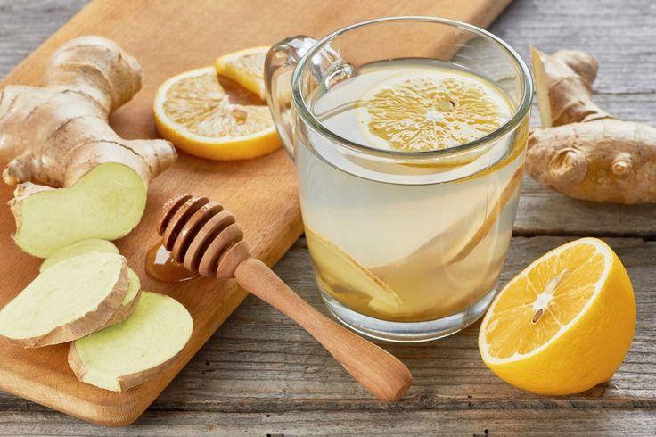 Tisana dimagrante zenzero e limone