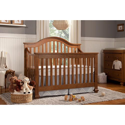 DaVinci Clover Convertible Crib With Toddler Bed Conversion Kit
