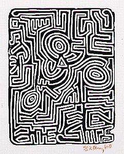 Galerie Bordas, Keith Haring