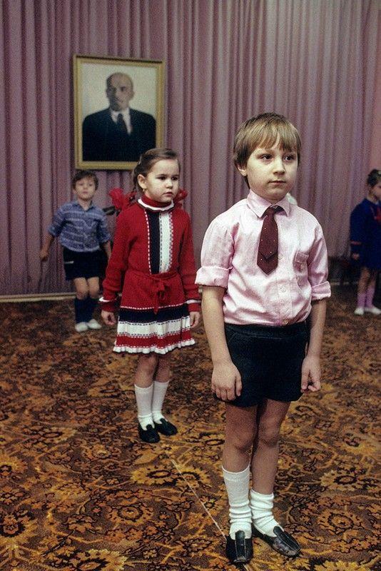 Szkoła w Moskwie, 1989, ZSRR