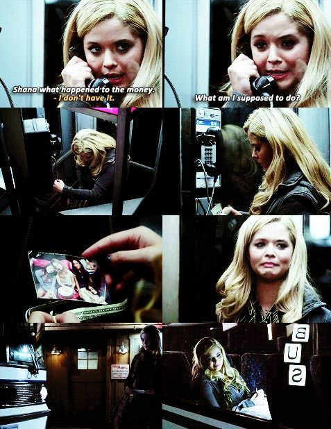 Pretty Little Liars | What makes this so special is Ali was scared, so she looked at their picture because she kew they would know what to do to help her, but she couldn't ask them because she was supposed to be dead, and the girls weren't friends with her at the time.