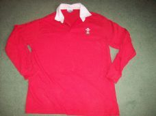 1997 1999 Wales L/s Rugby Union Shirt Adults Medium Top