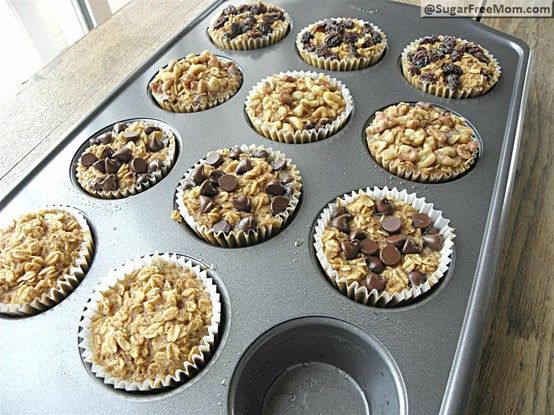 Baked oatmeal. Great for breakfast on the go. Not to mention, very healthy. Must try.