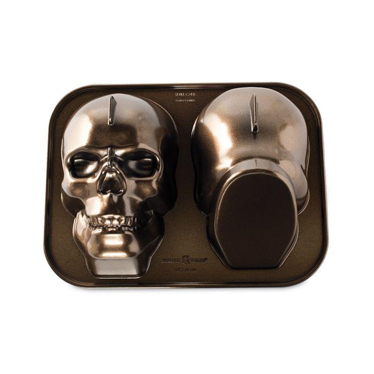 Haunted Skull Cake Pan Holidays Skull Cake Pan Cake