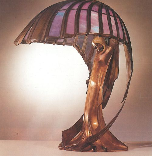 Tiffany. Lamp art noveau