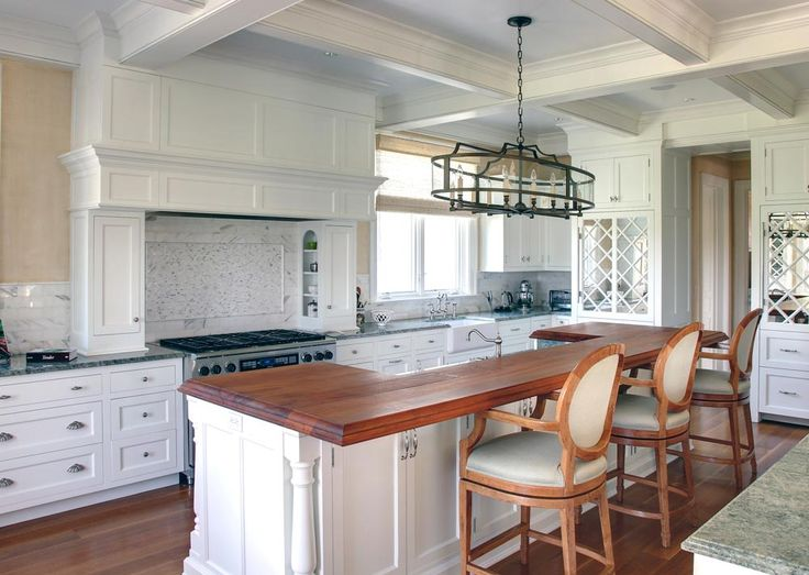 Hemingway Construction | Gallery of Kitchens | Traditional Kitchen | Mirrored Refrigerators