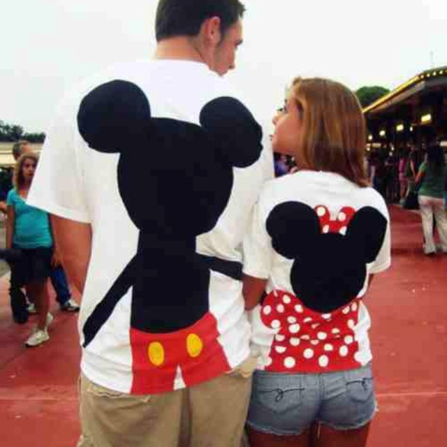 HAVE TO HAVE THESE!: Disney Shirts, Couple Shirts, Mickey Mouse, Disney Couple, Vacations Wear, Disney World, Disney Trips, Future Husband, Minnie Mouse