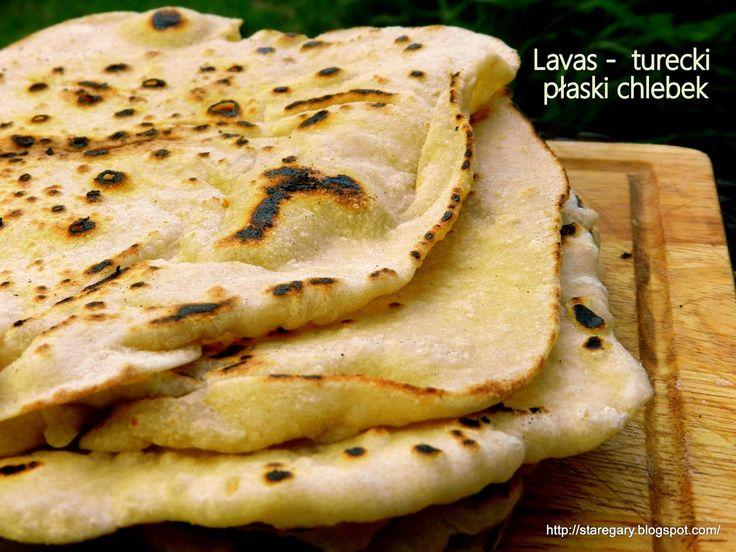 Stare Gary: Lavas - turecki płaski chlebek