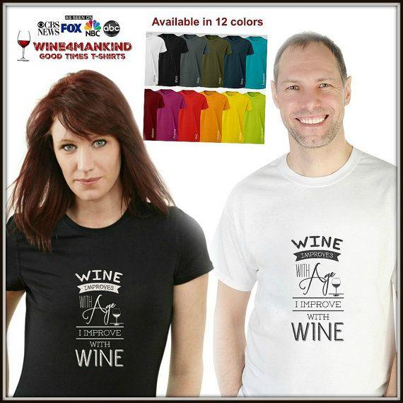 Funny Wine Birthday tshirts TSL08.Statement Shirt by Wine4Mankind