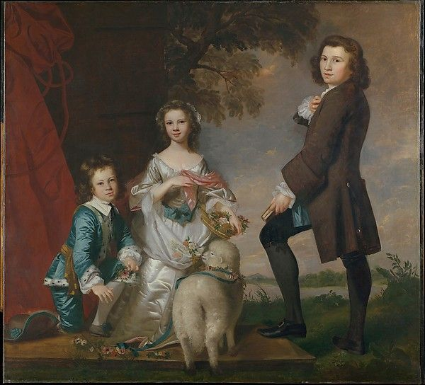 Thomas (1740–1825) and Martha Neate (1741–after 1795) with ...