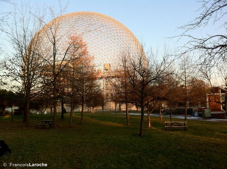 Biosphere, Buckminster Fuller Structure, Ile Ste-Hélène, Montréal