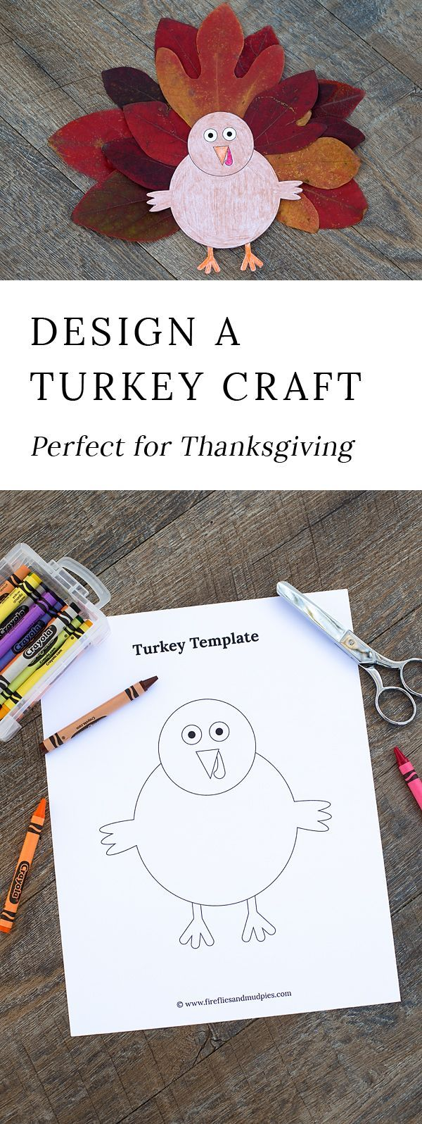 November is the perfect month for turkey crafts! Whether kids are learning about turkeys or Thanksgiving, or simply enjoying a fall craftivity at home, this open-ended Thanksgiving craft is a fun way to extend your fall or Thanksgiving unit. #thanksgiving #turkeycrafts #printablecrafts