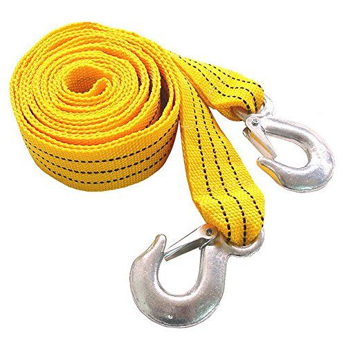 2 Inch X 10 Ft. Tow Strap Rope Hooks 6,000lb Towing Recovery, Heavy Duty  I use a steel clip so that I can withstand the weight of 6,000lb  2inch x 10feet Special synthetic nylon material, sturdy towing state to loosening stop knot  Easy to hook up and remove,Automotive,Your Garage,Deals & Rebates,Best Sellers,Parts,Accessories,Tools & Equipment,Car Care,Motorcycle & Powersports,Truck,Jeep,RV,Tires & Wheels,Vehicles  Camping and outdoor hammock rope when going out Used for fixing,Recov...