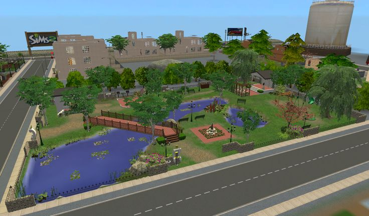 Galialady in Sims land, From Downtown: Sim Center North Before and After