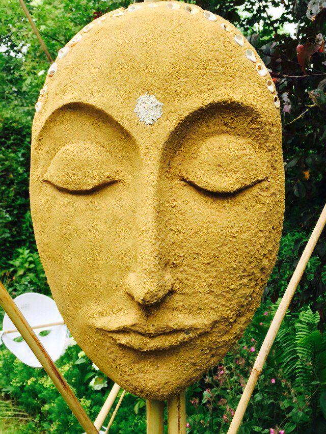 Lemen masker van Jacqueline van Kester