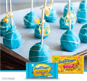 By NESTLÉ® BUTTERFINGER®: Try Our Recipe For No Bake Easter Cake Pops W/NESTLÉ® BUTTERFINGER® NestEggs