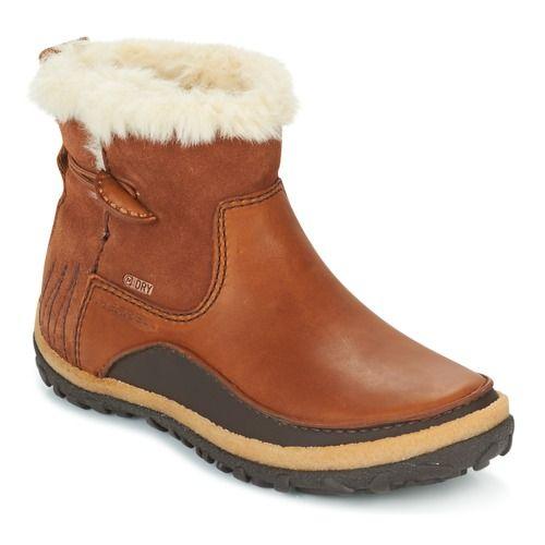 Bottes+de+neige+Merrell+TREMBLANT+PULL+ON+THRMO+WP+Marron+155.00+€