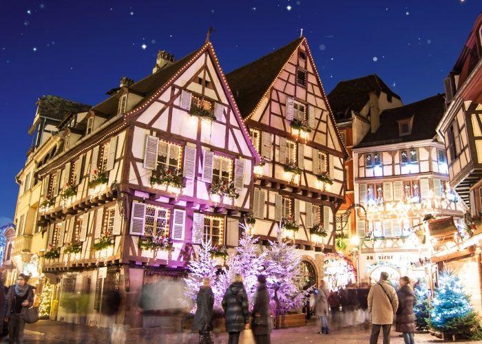 Marches De Noel En Alsace Lorraine Grand Est Colmar Strasbourg Week End Alsace Leclerc Voyages Colmar Noel En Alsace Et Week End Alsace