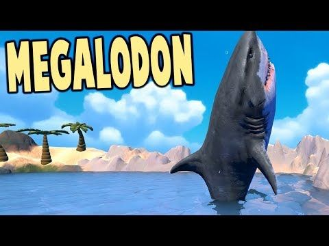 cool THE MIGHTY MEGALODON! BIGGEST SHARK EVER - Feed and Grow Fish Gameplay
