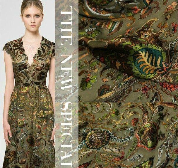 >> Click to Buy << Cashew Printing New Fashion DIY Burn-Out Raw Silk Fabric #Affiliate