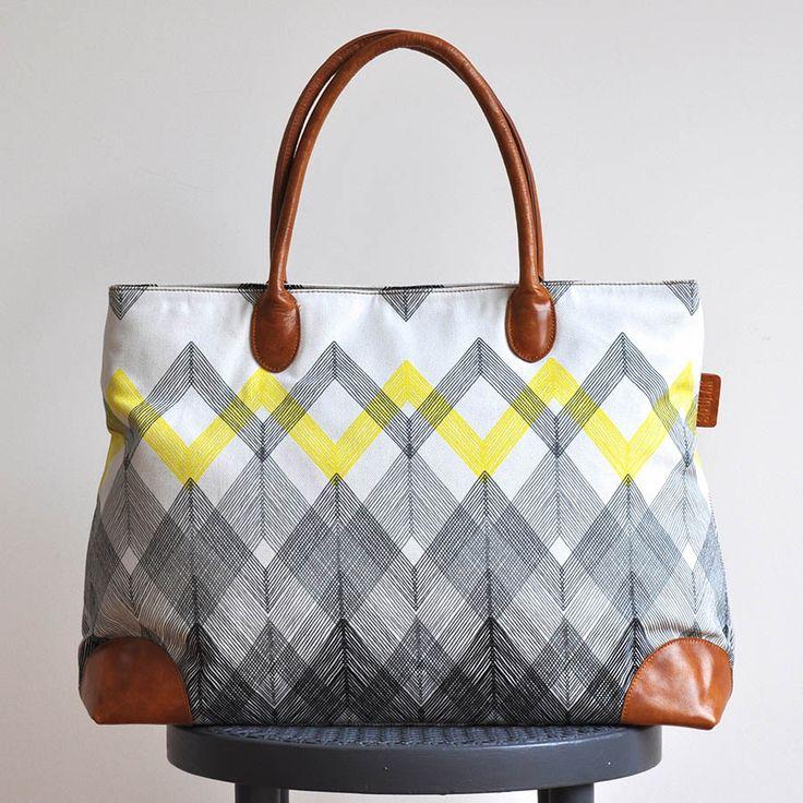 Zig Zag Bag www.squeakdesign.com