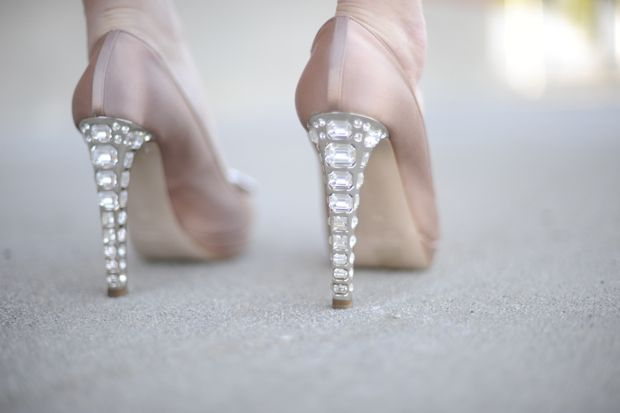 Diamonds are a girl best friends: Miumiu, Wedding Shoes, Sparkly Heels, Cupcake And Cashmere, Bling Heels, Sparkle Heels, Miu Miu, Bridal Shoes, Bling Bling