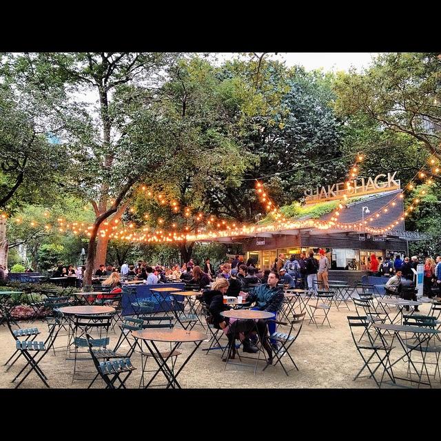 Madison Gardens in lights by Amy Feldtmann, via Flickr