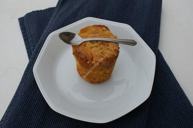 Muffin façon crumble aux pommes au thermomix de Vorwerk