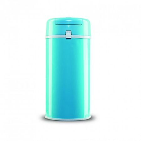 Bubula Steel Diaper Pail - Not only holds more diapers and is airtight, you can use regular size garbage bags making this an affordable clean method for dirty diapers.